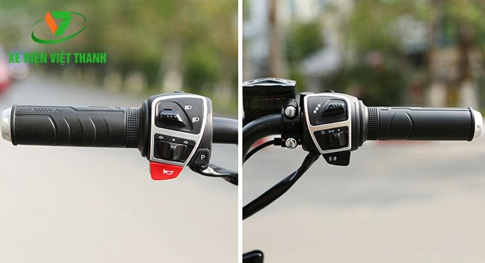 Dễ dàng điều khiển xe với tay lái thông minh