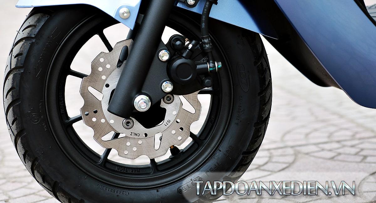 Phanh đĩa, lốp không săm an toàn